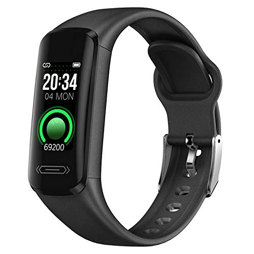 Shiwaki Reloj Inteligente para teléfonos Android iOS Relojes Inteligentes Impermeables para Mujeres y Hombres Reloj Digital Deportivo rastreador de Fitness
