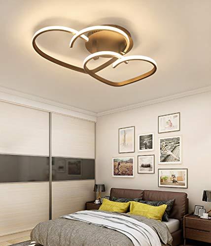 LED Modernes Deckenlicht Dimmbare Fernbedienung Deckenleuchte Schlafzimmerlampe Herzförmiges Design Kronleuchter , für Schlafzimmer Wohnzimmer Restaurant Kinderzimmer (65)