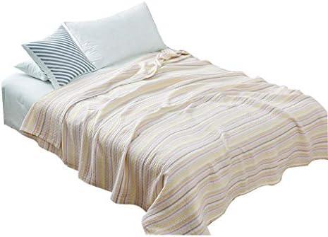 Sherpa Couvertures Throw Couverture Doux Coton Gaze Adulte Transpiration Couverture De La Sieste Canapé-lit Double Throw Blanket Chihen (Size : 150cmx220cm)