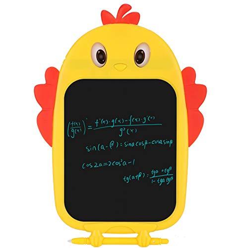 Tablero de escritura LCD de escritura con un toque, utilizado repetidamente Tableta de escritura LCD, forma de dibujos animados Escritura Dibujo Graffiti Pintura Niños para el hogar Regalos