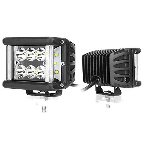 CRAWER LED Arbeitsscheinwerfer Combibeam 60W (PREMIUM) 6500K 2100 Lumen Kaltweiß Offroad arbeitslicht arbeitsleuchte LED Leuchte Traktor lampe scheinwerfer IP67 Pulverbeschichtetes Aluminium