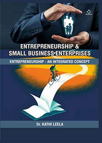 Entrepreneurship and Small Business Enterprises : An Integrated Concept (English Edition)