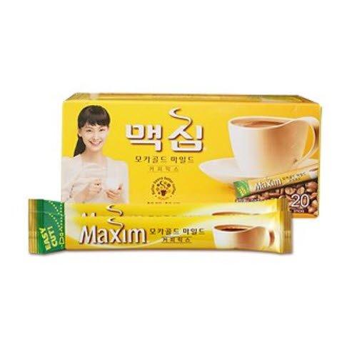 Maxim Mokka Gold koreanischen Instant-Kaffee 20 Sticks 240g (12 g x 10) + 4 Stöcke kostenlos