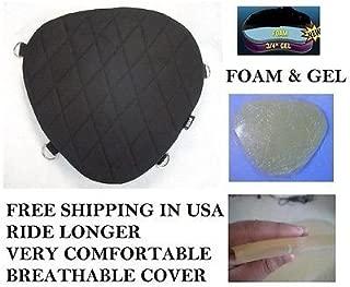 Motorcycle Driver Seat Gel Pad Cushion Pillow for Suzuki Boulevard C109 & M109