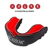 BLAZOR Paradenti Boxe Adulto, MMA, Muay Thai, Rugby, Hockey, Judo, Karate, Arti Marziali e...
