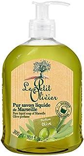 マルセイユのル?プティ?オリヴィエ純粋な液体石鹸、オリーブオイル300ミリリットル x2 - Le Petit Olivier Pure Liquid Soap of Marseille, Olive Oil 300ml (Pack of 2) [並行輸入品]