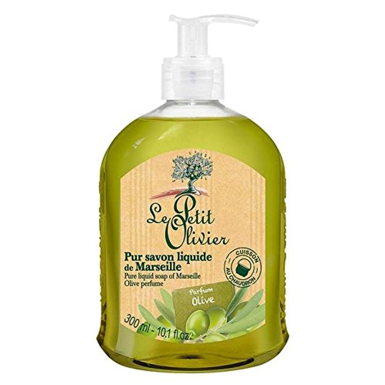 牽引ボーナス居間Le Petit Olivier Pure Liquid Soap of Marseille, Olive Oil 300ml - マルセイユのル?プティ?オリヴィエ純粋な液体石鹸、オリーブオイル300ミリリットル [並行輸入品]