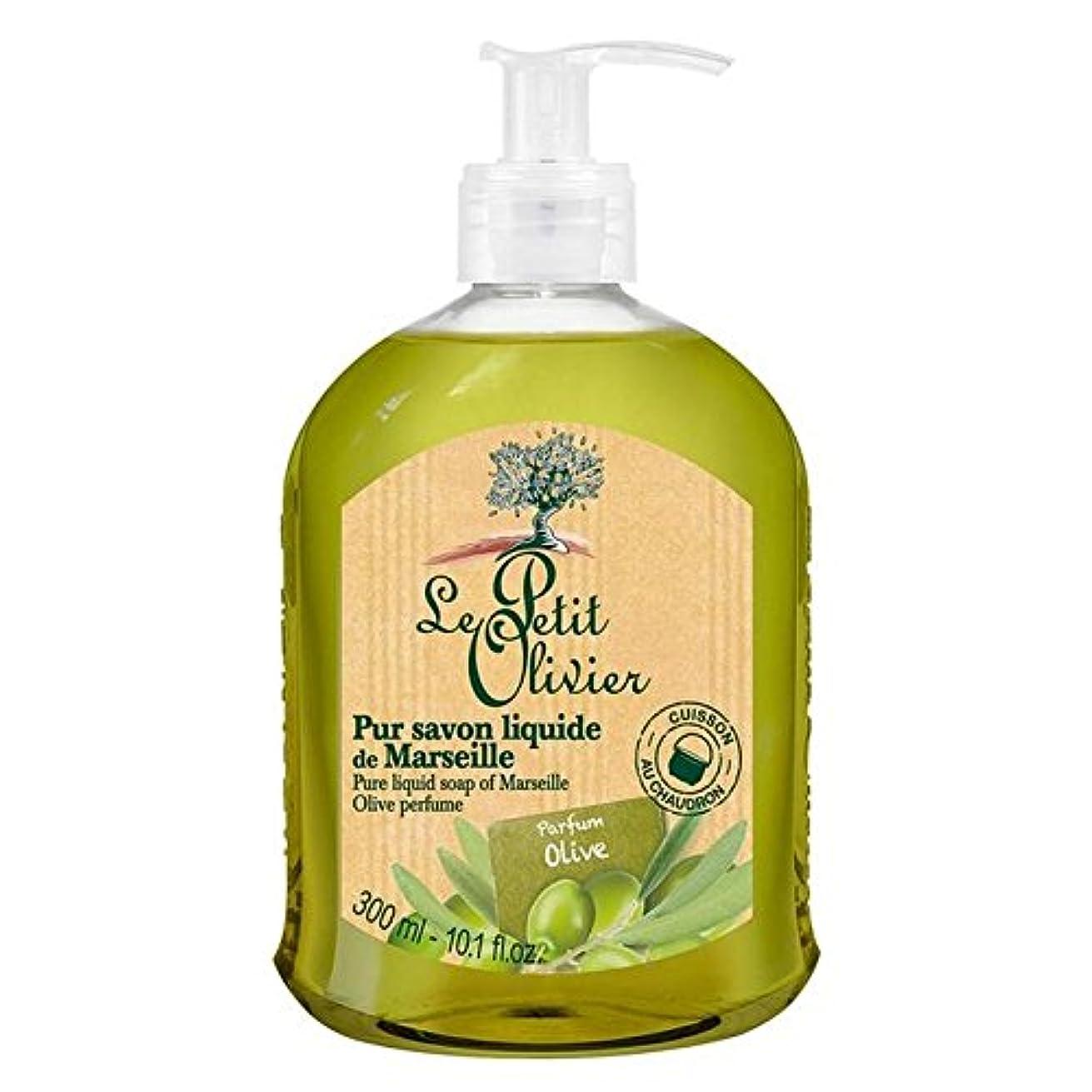 居心地の良い六月講師Le Petit Olivier Pure Liquid Soap of Marseille, Olive Oil 300ml (Pack of 6) - マルセイユのル?プティ?オリヴィエ純粋な液体石鹸、オリーブオイル300ミリリットル x6 [並行輸入品]