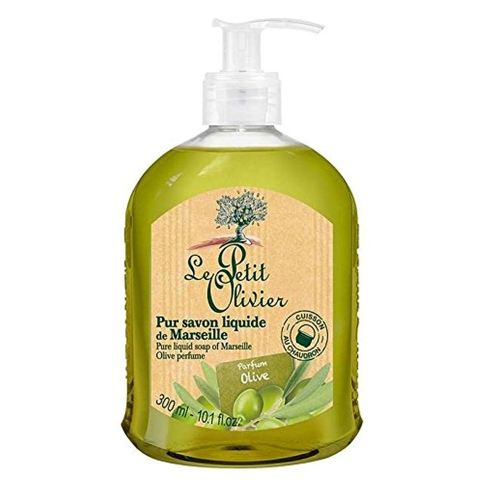 迫害拷問不完全Le Petit Olivier Pure Liquid Soap of Marseille, Olive Oil 300ml (Pack of 6) - マルセイユのル?プティ?オリヴィエ純粋な液体石鹸、オリーブオイル300ミリリットル x6 [並行輸入品]