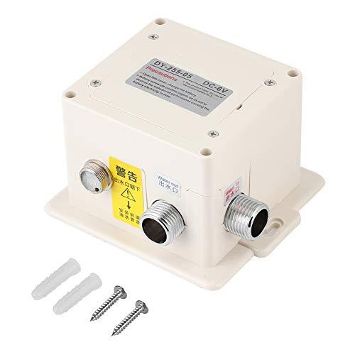 Elprico Berührungsloser Wasserhahn, automatischer Infrarot-Sensor Wasserhahn Küche Waschbecken Wasserhahn Freisprecharmatur Adapter mit Steuerkasten für Bad, Waschbecken, Küche
