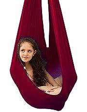 LHHL Columpio Yoga Hamaca Oscilación Columpio De Terapia para Niños Y Adolescentes con Más Necesidades Especiales Interior Elástico Sensorial Swing