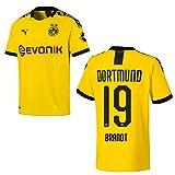 PUMA BVB Trikot Home Herren 2020 - Brandt 19, Größe:L