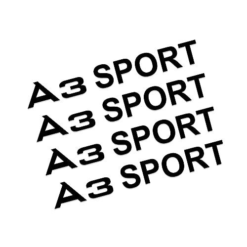 Etiquetas engomadas de las rayas de las llantas 4pcs Set Set Pegatinas de llanta de rueda de automóvil Compatibles con Audi A3 8P S3 8V A4 B8 B6 A6 C6 C5 C7 A1 A2 A5 A7 A8 AUTOS AUTO Accesorios de vin