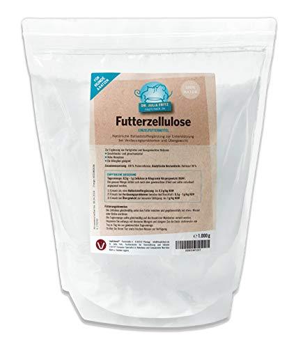 napfcheck Futterzellulose - bei Durchfall und Übergewicht - Hund & Katze - 1000 g