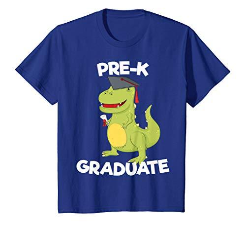 Kids Preschool Graduation Gift Preschooler Dinosaur Pre-K T-Shirt