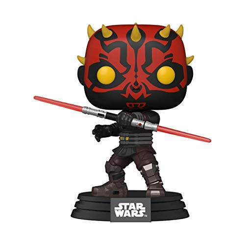 Funko- Pop Star Clone Wars-Darth Maul Figura Coleccionable, Multicolor (52025)