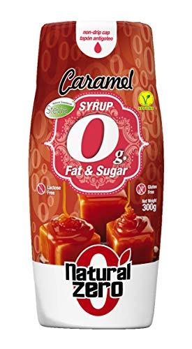 Natural Zero Syrup 400 ml Caramello