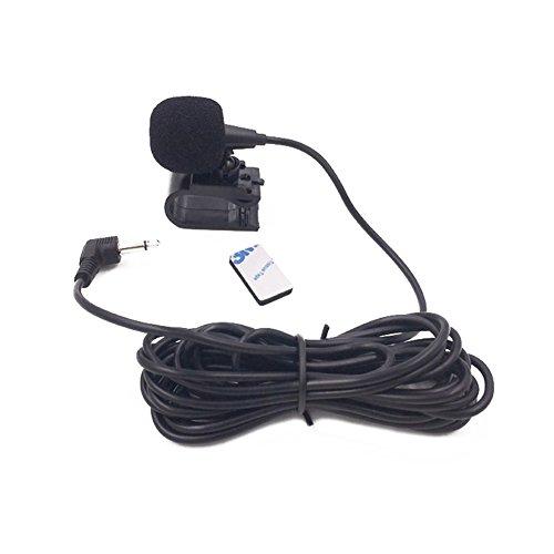 PerGrate 3,5 mm Autoradio Stereo Microfono Bluetooth Veicolo Microfono Esterno per Lettore GPS Attivato Audio DVD