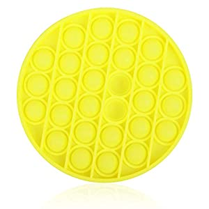 ZoneYan Juguete Sensorial Push Pop Bubble Fidget, Empuje la Burbuja Pop, Pop Pop Bubble Sensorial Fidget Juguete Estrés, Empuje la Burbuja Pop, Push Pop Pop Bubble Sensory Fidget Toy de ZoneYan
