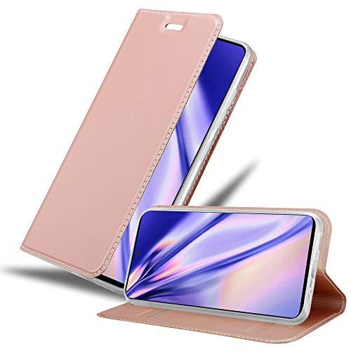 Cadorabo Funda Libro para Samsung Galaxy A51 en Classy Oro Rosa - Cubierta Proteccíon con Cierre Magnético, Tarjetero y Función de Suporte - Etui Case Cover Carcasa