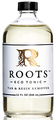 ROOTS Eco Tonic - Tar & Resin Remover - 32 oz Bottle - Resin Remover, Glass Cleaner