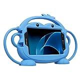 CHIN FAI Samsung Galaxy Tab 3/4 / A/E Lite 7 Pouces Tablet Case pour Les Enfants, Cartoon Double Face Singe Silicone...