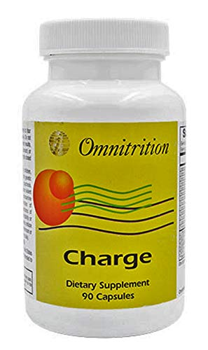 Charge Capsules (With Caffeine) Dietary Supplement - 90 Capsules