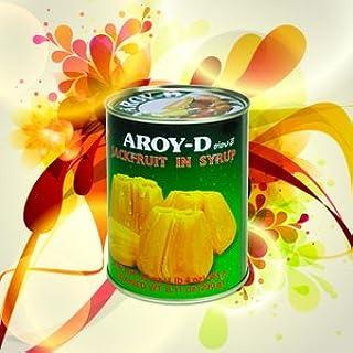 ジャックフルーツ 缶詰 565g (業務用 AROY-D タイ 南国 果物 パラミツ)(保存食 備蓄用にも)