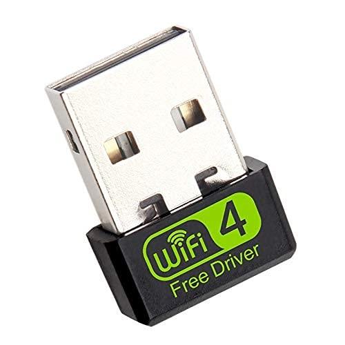 WiseGoods - Premium-WLAN-Adapter, WiFi Stick Mini, Wireless USB Adapter Empfänger, Netzwerk Dongle für PC, für Windows