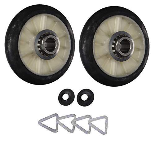 Ruedas para tambor de secadora que funcionan con Kenmore/Sears 11087370210