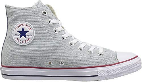 Converse Unisex-Erwachsene Chuck Taylor CTAS Hi Sneakers, Mehrfarbig (Light Blue/White/Brown 472), 38 EU