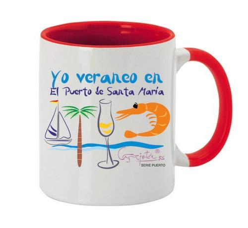 CARAJOTE Taza Serie Puerto Santa MARÍA Yo Veraneo en el Puerto