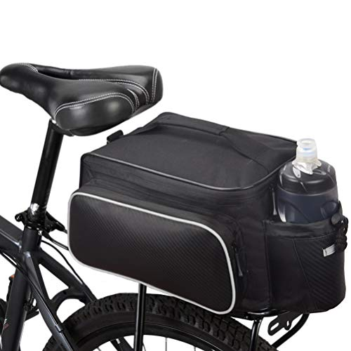 Bicycle Rear Seat Rack Trunk Bag...