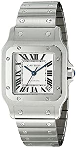 Cartier Men's W20098D6 Santos de Cartier Galb?e XL Automatic Watch Check Prices and Buy NOW!!! and review image