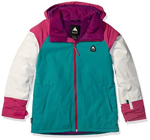 Burton Girls' Hart Jacket, Medium, Green-Blue Slate Multi, X-Large