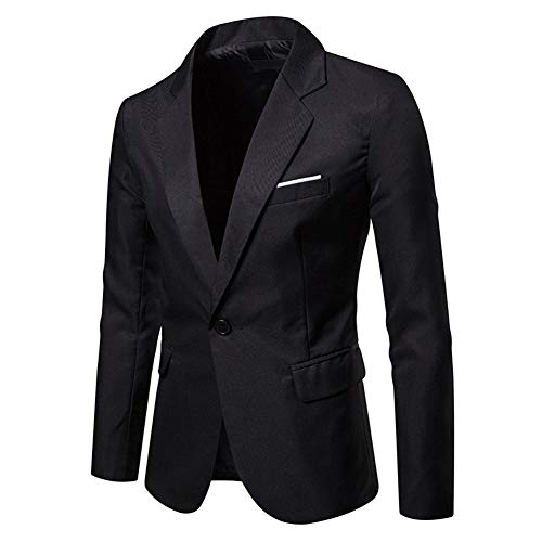 YOUTHUP Mens Blazer Business Jac...