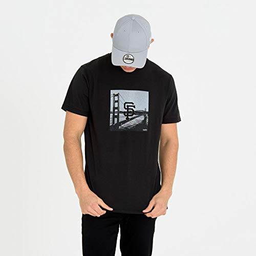 New Era MLB SAN FRANCISCO GIANTS City Print Tee T-Shirt, Größe:M