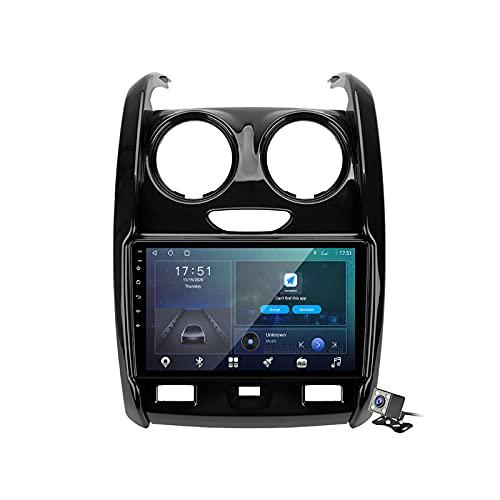 Buladala Android 11 Radio estéreo para Coche con 9″ Pantalla Táctil para Renault Duster 2015-2020 Soporta Bluetooth FM Am RDS Radio/Navegacion GPS/Carpaly Android Auto (Cámara de Respaldo),M600s