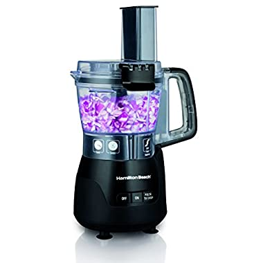 Hamilton Beach (70510) Food Processor & Mini Chopper, 4 Cup, Electric, Black