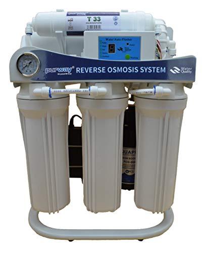 PUR Booster - Sistema de ósmosis inversa (5 niveles, 600 GPD, flujo directo, sin tanques