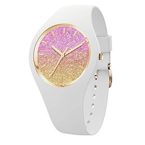 Ice-Watch - ICE lo Mango - Weiße Damenuhr mit Silikonarmband - 016900 (Medium)
