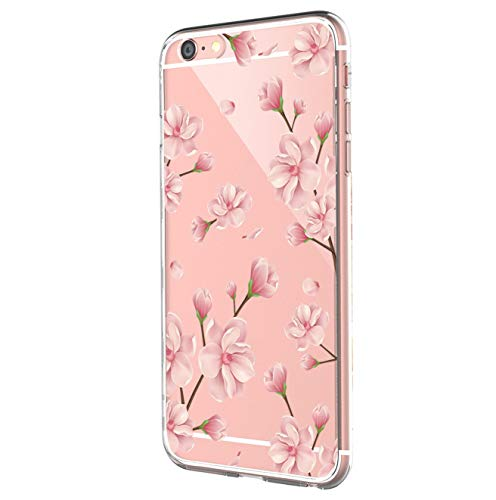 Case Compatible with iPhone 6S Case Clear, Ultra Slim Shockproof Soft TPU Back Cover for iPhone 6 (iPhone 6 6s, 5)