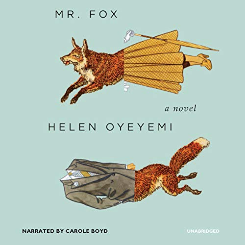 Mr. Fox audiobook cover art