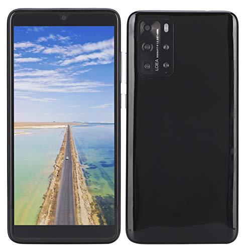 Celulares Desbloqueados 3G, P48 Pro 5.8' Smartphones Smartphone Libres Teléfonos Móviles Baratos, Doble SIM, 512MB + 4GB, Android 6.1, con Auricular, Versión Global(Negro)