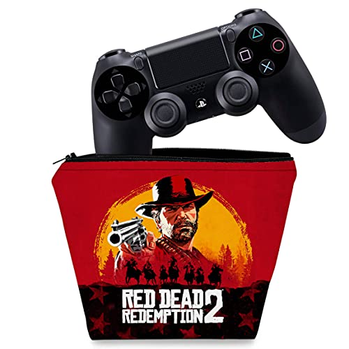 Capa PS4 Controle Case - Red Dead Redemption 2