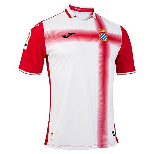 Joma SY.101021.16 Camiseta 2ª Equipación Espanyol, Hombre, Rojo, S