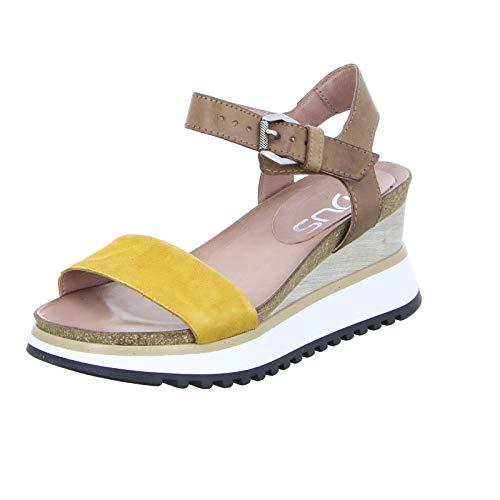 Mjus Damen Sandaletten Sandalette 912006-0102-0001 braun 680044