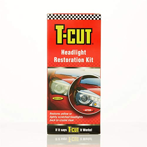 T-Cut THK001 Headlight Paintwork Restoration Scratch Remover Car Polish Kit...