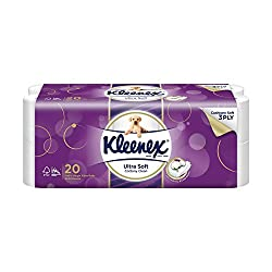 Kleenex Ultra Soft Bath Tissue, 200ct ,(Pack of 20)