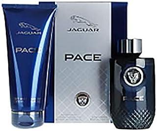 Pace by Jaguar Gift Set - perfume for men - Eau de Toilette, 100 ml - 200 ml, 2 Count